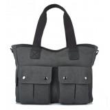 grey Messenger bag for girls school