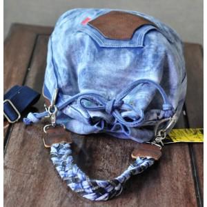 blue Hobo messenger bag
