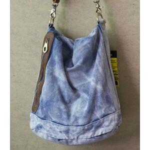 blue ladies messenger bag