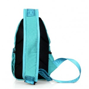 blue Sling travel bag