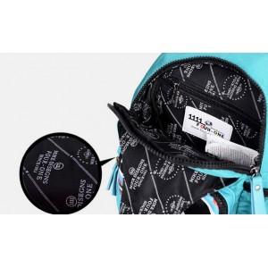 Sling travel bag blue