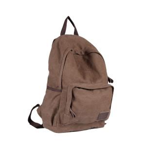 Canvas backpack men, daypack backpack