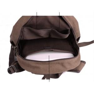 vintage Canvas backpack men