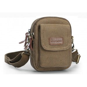 khaki Waist pack hiking