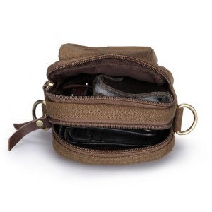 canvas cell phone fanny pack