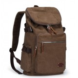 Canvas backpack mens, laptop day pack