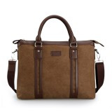 Laptop messenger bag, business briefcase