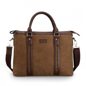 Laptop messenger bag, business briefcase