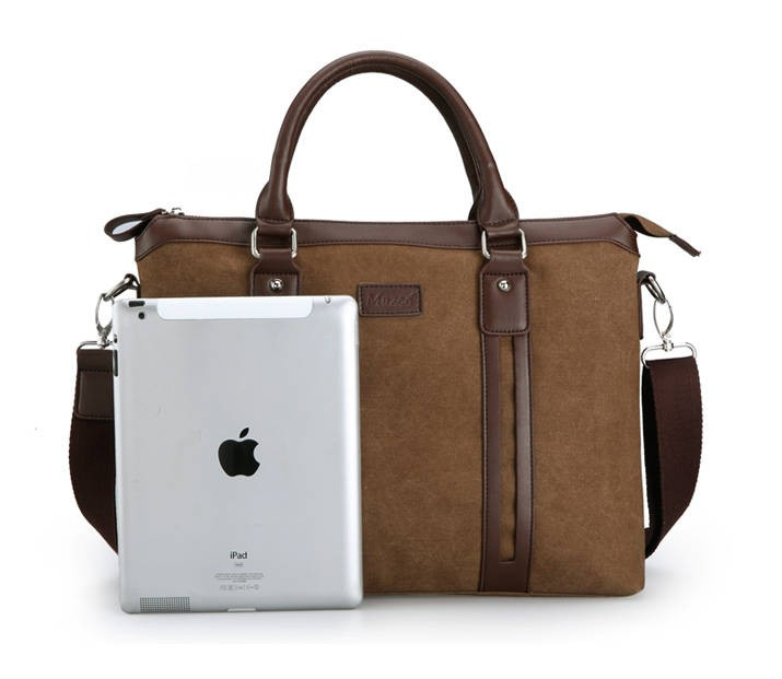 Laptop messenger bag, business briefcase - BagsEarth