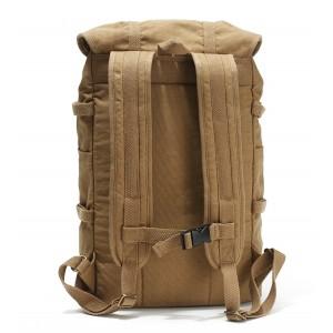 khaki best laptop backpack for travel