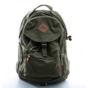 Vintage canvas rucksack, couples stylish backpacks