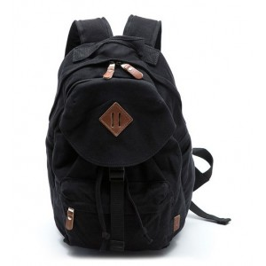 black couples stylish backpacks