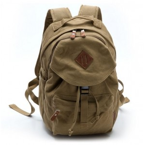 khaki couples stylish backpacks