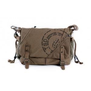 khaki Bike messenger bag