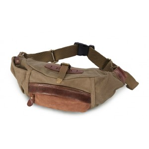 Fanny pack for men, canvas fanny pack