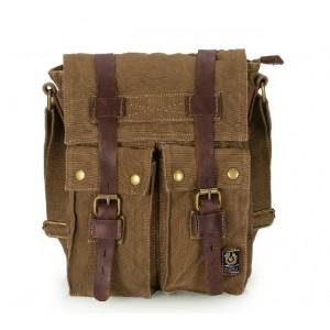 Canvas messenger bag, cross shoulder bag