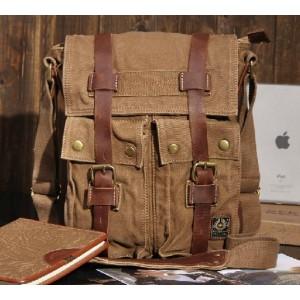 khaki cross shoulder bag