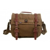 Shoulder bags with long strap, canvas messenger bag