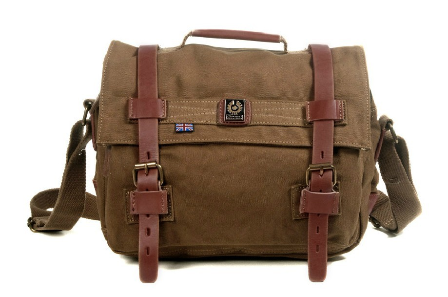 Shoulder bags with long strap, canvas messenger bag - BagsEarth