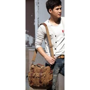 canvas Male shoulder bag