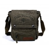 Canvas shoulder bag, most popular messenger bag