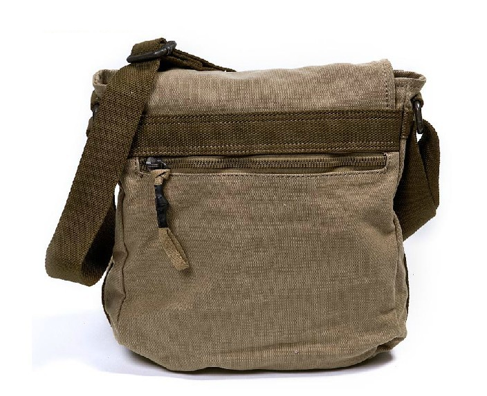 Canvas shoulder bag, most popular messenger bag - BagsEarth
