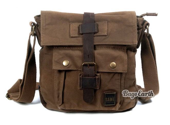 Mens shoulder bag, side bag - BagsEarth