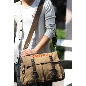 mens Over the shoulder book bag