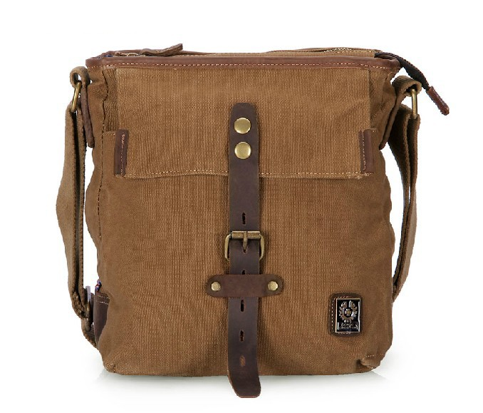 Side bags for women, canvas messenger bag - BagsEarth