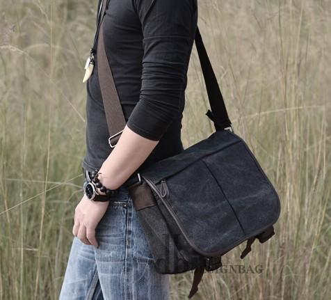 Mens College Bag Flap Over Messenger