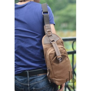 canvas Bag shoulder travel