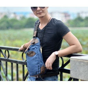 blue Bag shoulder travel