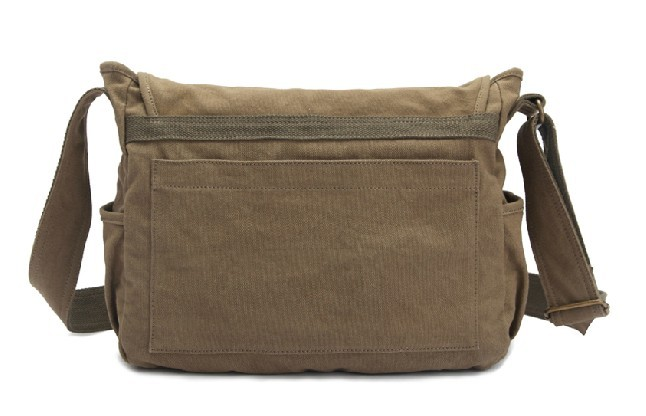 Canvas messenger bag for men, military canvas messenger bag ...