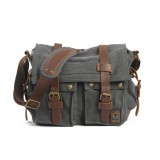 Army canvas shoulder bag, vintage shoulder bag