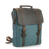Vintage canvas rucksack backpack