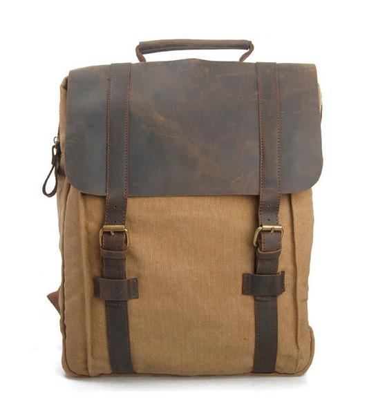 vintage canvas rucksack backpack classic canvas rucksack. Black Bedroom Furniture Sets. Home Design Ideas