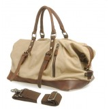 Canvas overnight bag, heavy duty canvas bag