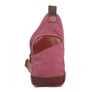 rose backpack with one strap