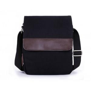 black awesome messenger bag