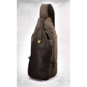 canvas backpacks with one strap