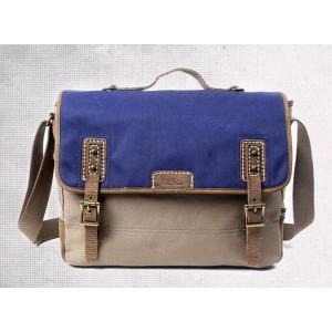 Distressed messenger bag, canvas shoulder bags for men