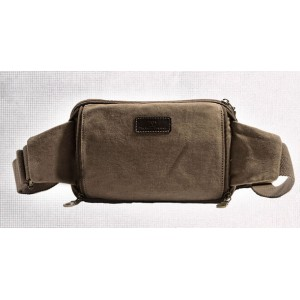 canvas travel shoulder bag