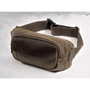 canvas lumbar bag