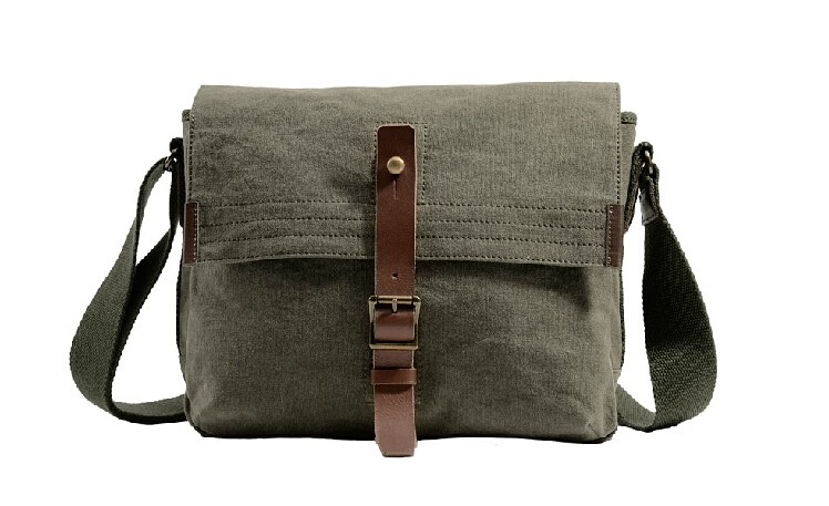93a549db5cf9 Best mens messenger bag · khaki shoulder ...