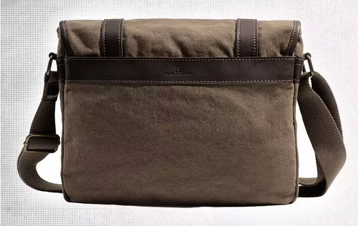Canvas over the shoulder bag, men bags - BagsEarth