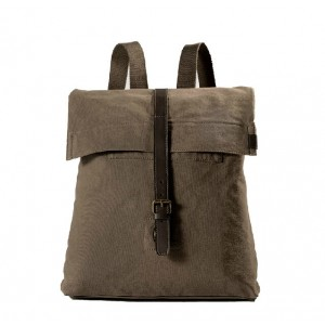 Fashionable canvas backpacks for men, classic canvas rucksack