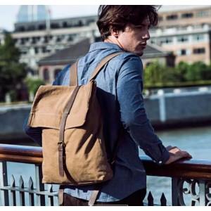 classic canvas rucksack