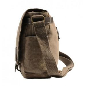 khaki Over the shoulder school bags