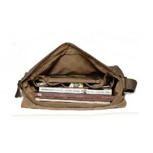 Over the shoulder school bag for men
