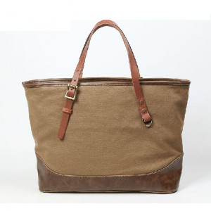 khaki Heavy duty canvas bag